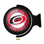 Carolina Hurricanes: Original Round Illuminated Rotating Wall Sign