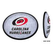 Carolina Hurricanes: Ice Rink - Oval Slimline Illuminated Wall Sign