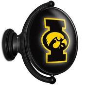 University of Iowa Hawkeyes Rotating LED Team Spirit Wall Sign-Oval