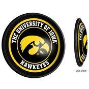 University of Iowa Hawkeyes Slimline Illuminated Team Spirit Wall Sign-Round