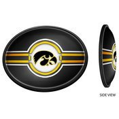 University of Iowa Hawkeyes Slimline LED Team Spirit Wall Sign-Oval-Tigerhawk