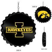 University of Iowa Hawkeyes Team Spirit Bottle Cap Dangler-Iowa