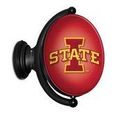 ISU Iowa State Cyclones Rotating LED Team Spirit Wall Sign