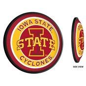 ISU Iowa State Cyclones Slimline Illuminated Team Spirit Wall Sign-Round