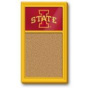 ISU Iowa State Cyclones Team Board Corkboard