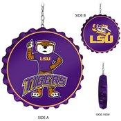 LSU Tigers Team Spirit Bottle Cap DanglerU-Purple