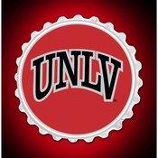 UNLV Rebels Team Spirit Bottle Cap Wall Sign