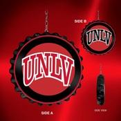 UNLV Rebels Team Spirit Bottle Cap Dangler-Primary Logo