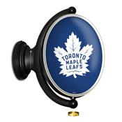 Toronto Maple Leaf: Original Oval Illuminated Rotating Wall Sign