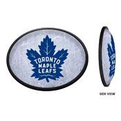 Toronto Maple Leaf: Ice Rink - Oval Slimline Illuminated Wall Sign