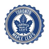 Toronto Maple Leaf: Bottle Cap Wall Sign