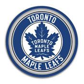 Toronto Maple Leaf: Modern Disc Wall Sign