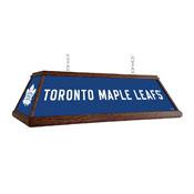Toronto Maple Leaf: Premium Wood Pool Table Light