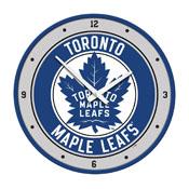 Toronto Maple Leaf: Modern Disc Wall Clock