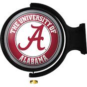 Alabama Crimson Tide: Original Round Lighted Rotating Wall Sign