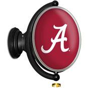 Alabama Crimson Tide: Original Oval Illuminated Rotating Wall Sign