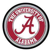 Alabama Crimson Tide: Round Slimline Lighted Wall Sign