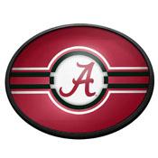 Alabama Crimson Tide: Oval Slimline Lighted Wall Sign