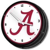 Alabama Crimson Tide: Retro Lighted Wall Clock