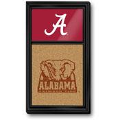 Alabama Crimson Tide: Dual Logo - Cork Note Board
