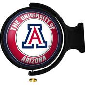Arizona Wildcats: Original Round Illuminated Rotating Wall Sign