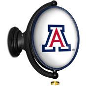 Arizona Wildcats: Original Oval Illuminated Rotating Wall Sign