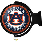 Auburn Tigers: Original Round Rotating Lighted Wall Sign