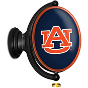 Auburn Tigers: Original Oval Rotating Lighted Wall Sign