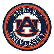 Auburn Tigers: Modern Disc Wall Sign
