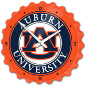 Auburn Tigers: Bottle Cap Wall Clock