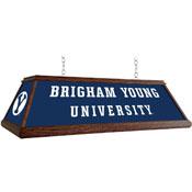 BYU Cougars: Premium Wood Pool Table Light