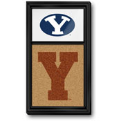 BYU Cougars: Dual Ys - Cork Note Board