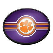 Clemson Tigers: Oval Slimline Lighted Wall Sign