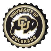 Colorado Buffaloes: Bottle Cap Wall Sign
