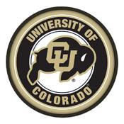Colorado Buffaloes: Modern Disc Wall Sign