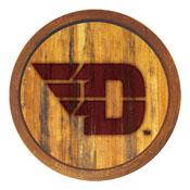 """Dayton Flyers: Branded """"Faux"""" Barrel Top Sign"""