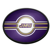James Madison Dukes: Oval Slimline Lighted Wall Sign