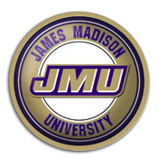 James Madison Dukes: Modern Disc Wall Sign