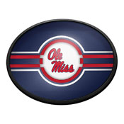 Ole Miss Rebels: Oval Slimline Lighted Wall Sign