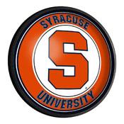Syracuse Orange: Round Slimline Lighted Wall Sign