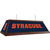 Syracuse Orange: Premium Wood Pool Table Light