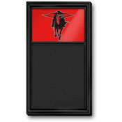 Texas Tech Red Raiders: Masked Rider - Chalk Noteboard