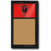 Texas Tech Red Raiders: Masked Rider - Cork Noteboard