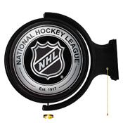 NHL: Original Round Rotating Lighted Wall Sign
