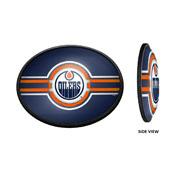 Edmonton Oilers: Oval Slimline Illuminated Wall Sign