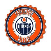 Edmonton Oilers: Bottle Cap Wall Sign