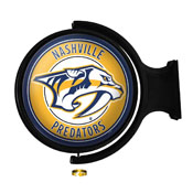 Nashville Predators: Original Round Illuminated Rotating Wall Sign