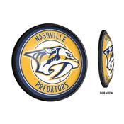 Nashville Predators: Round Slimline Illuminated Wall Sign