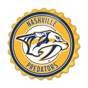 Nashville Predators: Bottle Cap Wall Sign