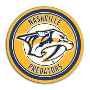 Nashville Predators: Modern Disc Wall Sign